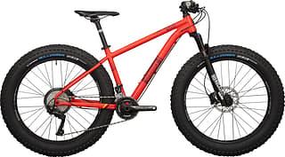 Silverback Scoop Double  -fatbike, punainen, L/480 mm