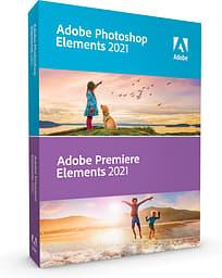 Adobe Photoshop Elements 2021 & Premiere Elements 2021 - Win/Mac -kuvan- ja videonkäsittelyohjelma, DVD