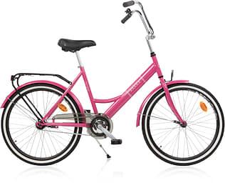 """Baana Suokki 24"""" -polkupyörä, 1-vaiht., pinkki"""