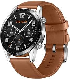 Huawei Watch GT2 -älykello 46mm,  Ruskea nahkaranneke