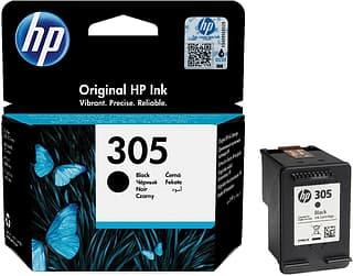 HP 305 -mustekasetti, musta
