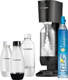 Sodastream Genesis Megapack -hiilihapotuslaite, musta