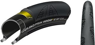 "Continental Grand Prix  4000 II S 28-622 musta maantiepyörän rengas, 28"""
