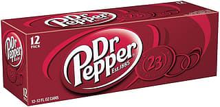 Dr Pepper USA -virvoitusjuoma, 355 ml, 12-PACK