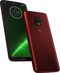 Motorola Moto G7 Plus -Android-puhelin Dual-SIM, 64 Gt punainen
