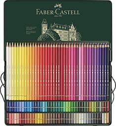 Faber-Castell Polychromos -värikynät peltirasiassa, 120 väriä