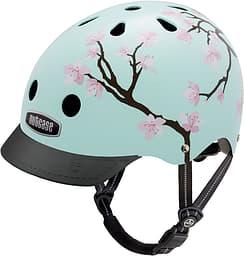 Nutcase Cherry Blossoms Street -pyöräilykypärä, S-koko
