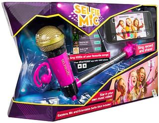 Selfie Mic -karaokemikrofoni pakkaus