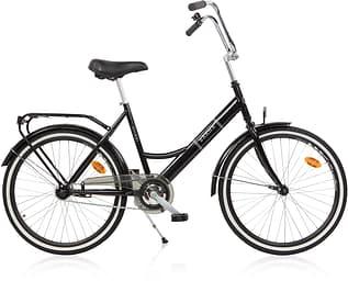 """Baana Suokki 24"""" -polkupyörä, 1-vaiht., musta"""
