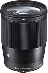 Sigma 16 mm F1.4 DC DN  Contemporary -objektiivi, Sony E