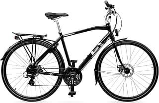 """Baana Espa 28"""" -hybridipyörä, 24-vaiht., musta"""