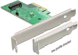 DeLOCK PCI Express x4 - M.2 NVMe -adapteri