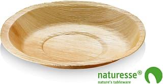 Naturesse-kertakäyttölautanen, 24 cm, 25 kpl