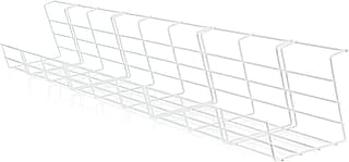 Elfen Cable Basket -johtokori, 72 cm, valkoinen