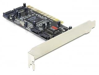 DeLOCK SATA-RAID -ohjainkortti PCI-väylään
