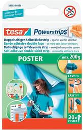 Tesa Powerstrips julistetarra 20 kpl/pkt