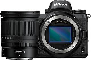Nikon Z6 -mikrojärjestelmäkamera + 24-70 mm objektiivi