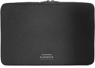 "Tucano New Elements Second Skin -suojatasku, 13"" Apple MacBook Air, musta"