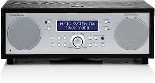 Tivoli Audio Music System Two, musta saarni