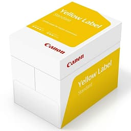 Canon Yellow Label Copy A4 / 80 g kopiopaperi - 5 x 500 arkin paketti