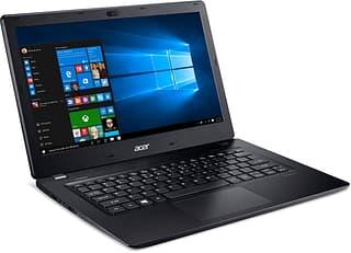 """Acer Aspire V3-372 13,3"""" -kannettava, Win 10, musta"""