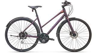 "Tunturi Active Lady 28"" -hybridipyörä, 48 cm, violetti"