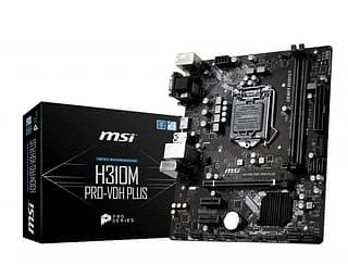 MSI H310M PRO-VDH PLUS Intel H310 LGA1151 mATX-emolevy