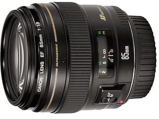 Canon EF 85mm f/1.8 USM -keskipitkä teleobjektiivi