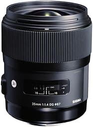 Sigma 35 mm F1.4 DG HSM | A objektiivi, Canon
