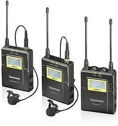 Saramonic UHF Wireless Lavalier Microphone System -langaton mikrofonijärjestelmä