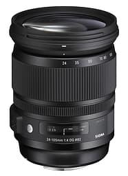 Sigma 24-105 mm F4 DG OS HSM | A objektiivi, Canon