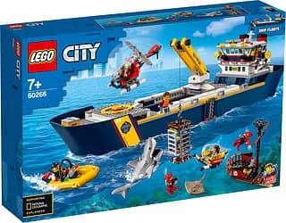 LEGO City Oceans 60266 - Valtameren tutkimuslaiva