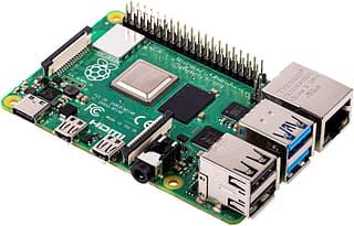 Raspberry Pi 4 model B 8 Gt - yhden piirilevyn tietokone