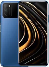 POCO M3 -Android-puhelin, 4 / 128 Gt, sininen