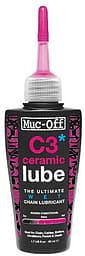 Muc-Off Wet Lube C3 Ceramic -ketjuöljy, 50 ml