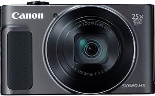 Canon PowerShot SX620 HS -digikamera, musta