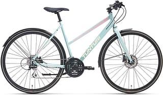 """RX500 F28-24 - 28"""" -hybridipyörä, 53 cm vaalean sininen"""