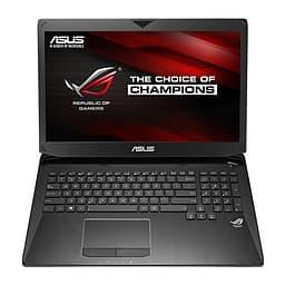 """Asus G750JZ 17,3""""/I7-4710HQ/8 Gt/GTX880M 4 Gt/750 Gt/Windows 8.1 64-bit - kannettava tietokone"""