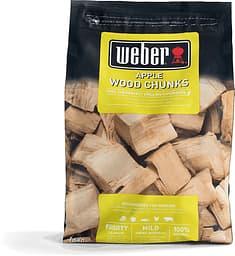 Weber-savustuspalat, omena