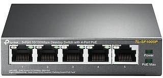 TP-LINK TL-SF1005P -5-porttinen kytkin
