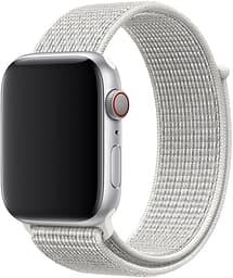 Apple Watch 44 mm Summit White Nike Sport Loop -ranneke, MX822