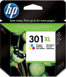 HP 301XL -mustekasetti, kolmiväri, suuri kapasiteetti