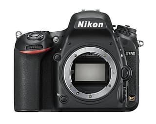 Nikon D750 järjestelmäkamera, runko