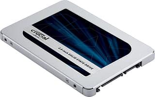 "Crucial MX500 500 Gt SATA III SSD 2,5"" -SSD-kovalevy"