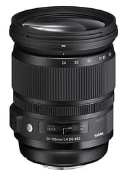 Sigma 24-105 mm F4 DG OS HSM | A objektiivi, Nikon