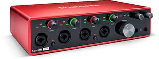 Focusrite Scarlett 18i8 3rd Gen -äänikortti USB-väylään