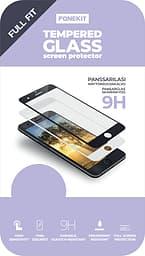 FoneKit Full Fit -panssarilasi, OnePlus 7T, musta