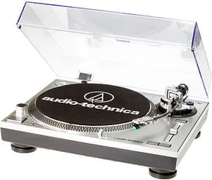 Audio-Technica AT-LP120-USB HC -suoravetoinen ammattilevysoitin AT95E-äänirasialla