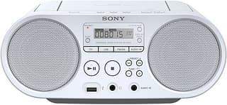 Sony ZS-PS50 -CD-radio, valkoinen