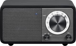 Sangean Genuine Mini WR-7 -FM-radio Bluetooth-yhteydellä, musta